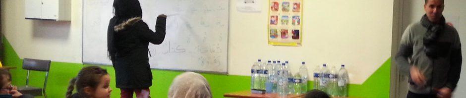 Reprise des cours d'arabe avec l'association «Lire et Ecrire»